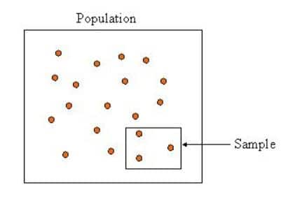 population vs sample